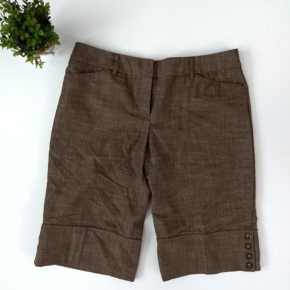 BCX Pants - BCX dressy bermuda shorts, Size 13